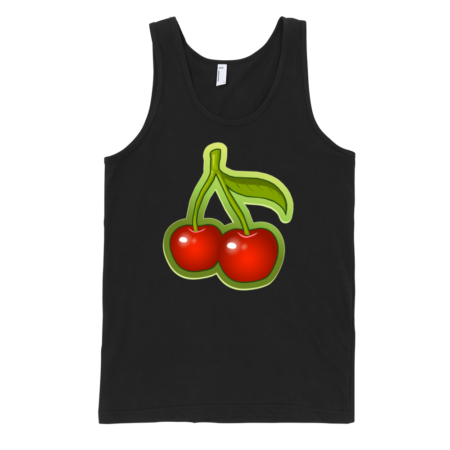 Cherries-Fine-Jersey-Tank-Top-Unisex-by-iTEE.com