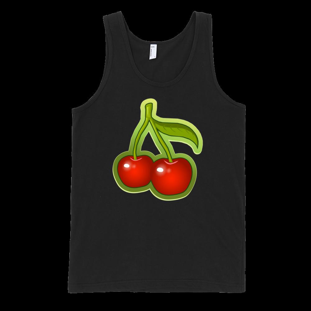 Cherries-Fine-Jersey-Tank-Top-Unisex-by-iTEE.com