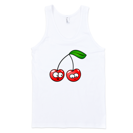 Cherry-Fine-Jersey-Tank-Top-Unisex-by-iTEE.com