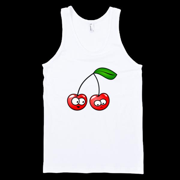 Cherry-Fine-Jersey-Tank-Top-Unisex-by-iTEE.com