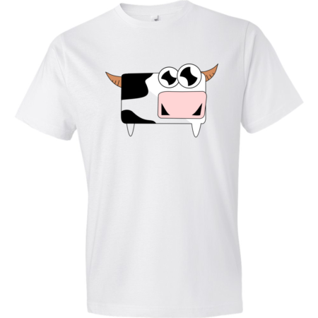 Cow-Lightweight-Fashion-Short-Sleeve-T-Shirt-by-iTEE.com