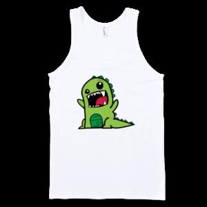 Dinosaur-Fine-Jersey-Tank-Top-Unisex-by-iTEE.com