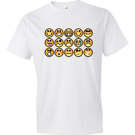 Emotions-Lightweight-Fashion-Short-Sleeve-T-Shirt-by-iTEE.com