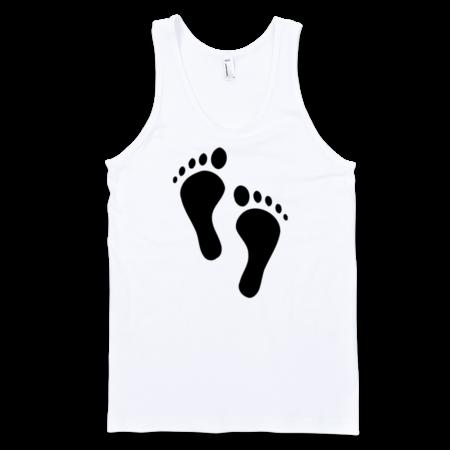 Feet-Fine-Jersey-Tank-Top-Unisex-by-iTEE.com