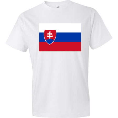 Flag-of-Slovakia-Lightweight-Fashion-Short-Sleeve-T-Shirt-by-iTEE.com