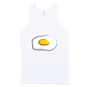 Fried-Egg-Fine-Jersey-Tank-Top-Unisex-by-iTEE.com