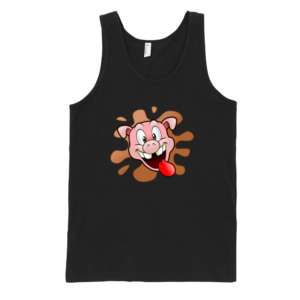 Happy-Pig-Fine-Jersey-Tank-Top-Unisex-by-iTEE.com