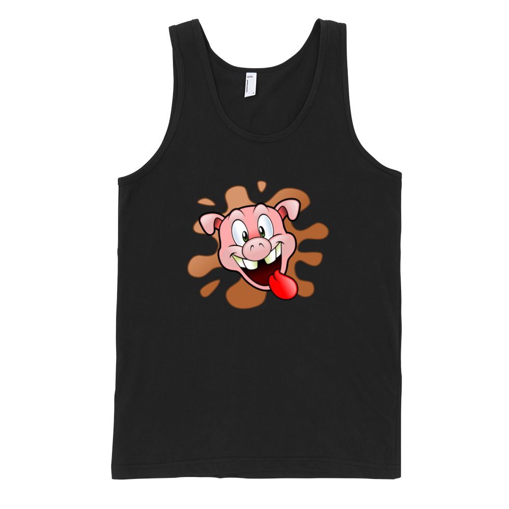 Happy-Pig-Fine-Jersey-Tank-Top-Unisex-by-iTEE.com