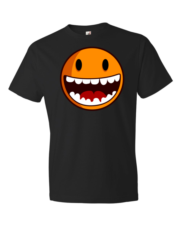 Happy-Smiley-Lightweight-Fashion-Short-Sleeve-T-Shirt-by-iTEE.com
