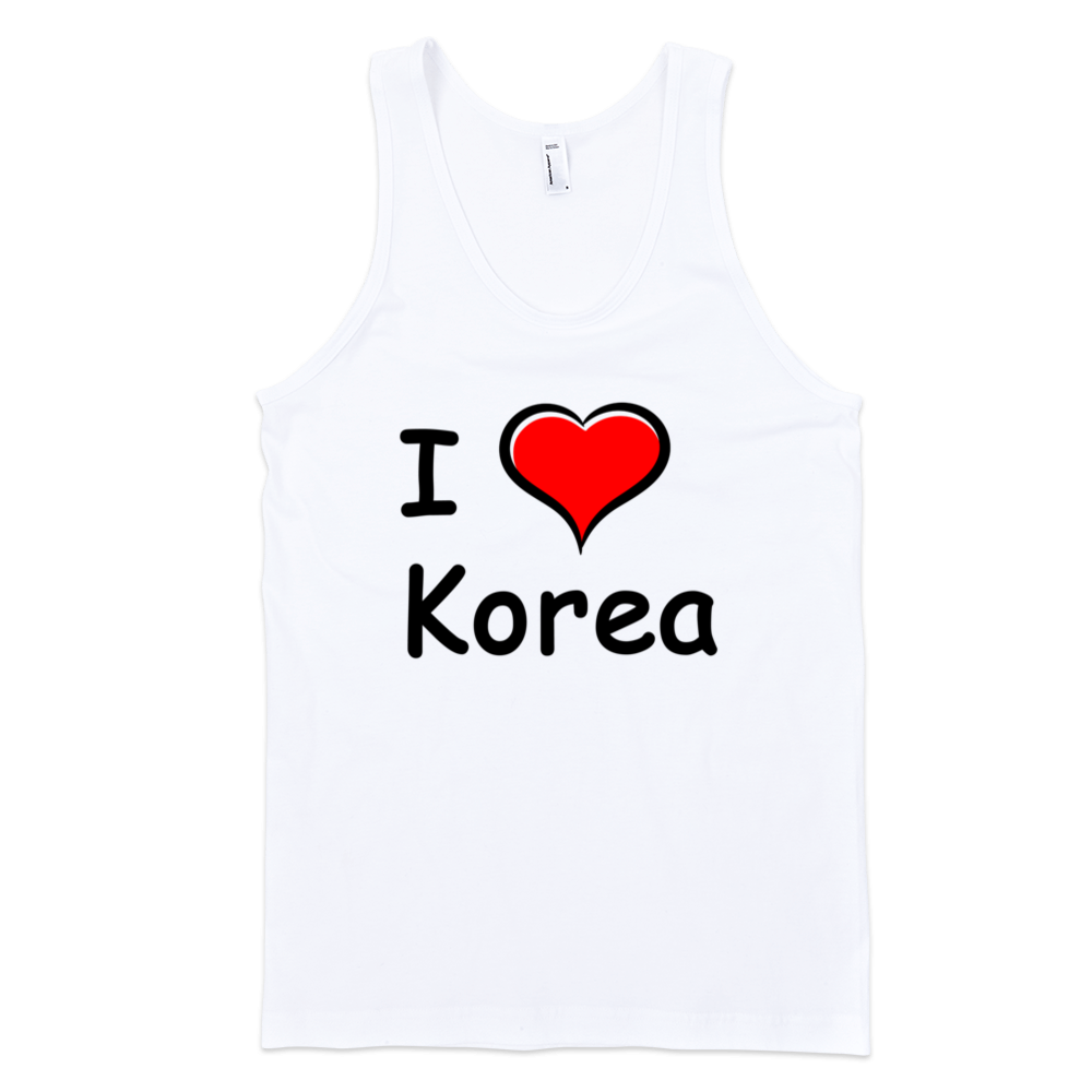 I-Love-Korea-Fine-Jersey-Tank-Top-Unisex-by-iTEE.com
