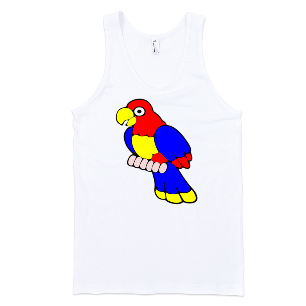 Parrot-Fine-Jersey-Tank-Top-Unisex-by-iTEE.com