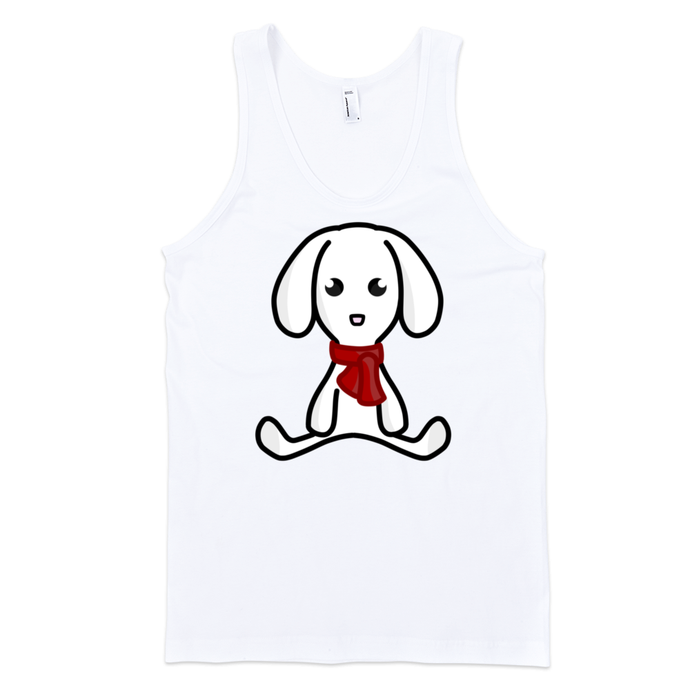 Puppy-Fine-Jersey-Tank-Top-Unisex-by-iTEE.com