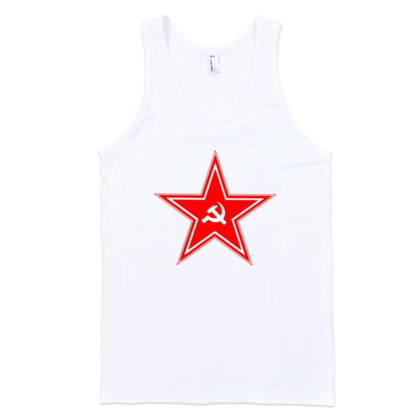 Red-Star-Fine-Jersey-Tank-Top-Unisex-by-iTEE.com