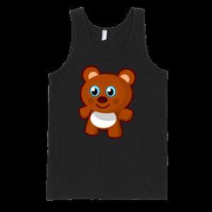Teddy-Bear-Fine-Jersey-Tank-Top-Unisex-by-iTEE.com
