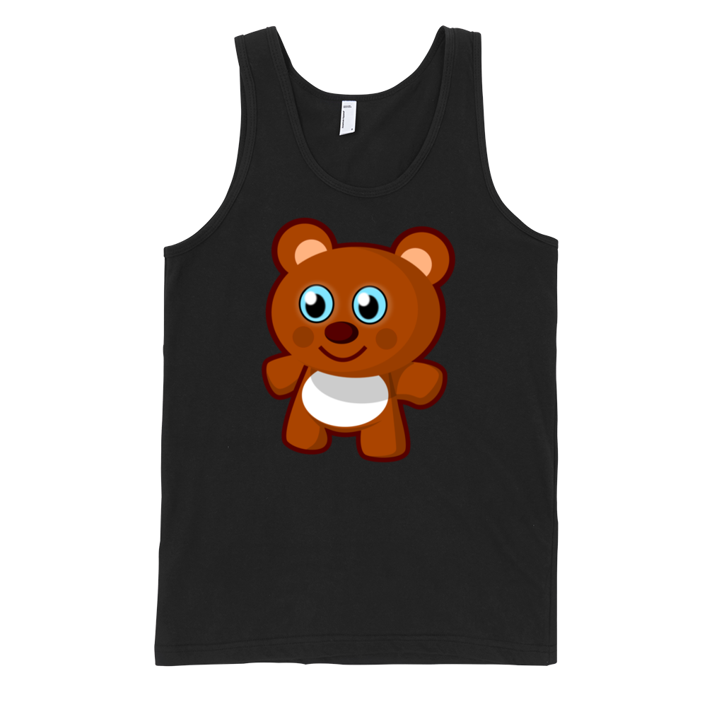 Teddy Bear Fine Jersey Tank Top Unisex By Iteecom