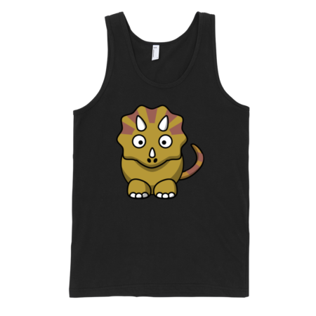 Triceratops-Fine-Jersey-Tank-Top-Unisex-by-iTEE.com
