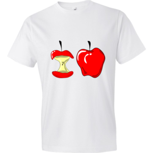 Apple-Lightweight-Fashion-Short-Sleeve-T-Shirt-by-iTEE.com