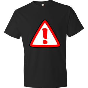 Attention-Lightweight-Fashion-Short-Sleeve-T-Shirt-by-iTEE.com