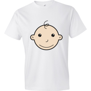 Baby-Face-Lightweight-Fashion-Short-Sleeve-T-Shirt-by-iTEE.com