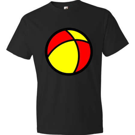 Beach-Ball-Lightweight-Fashion-Short-Sleeve-T-Shirt-by-iTEE.com