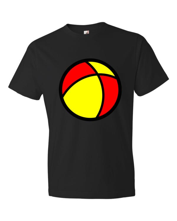 Beach-Ball-Lightweight-Fashion-Short-Sleeve-T-Shirt-by-iTEE.com