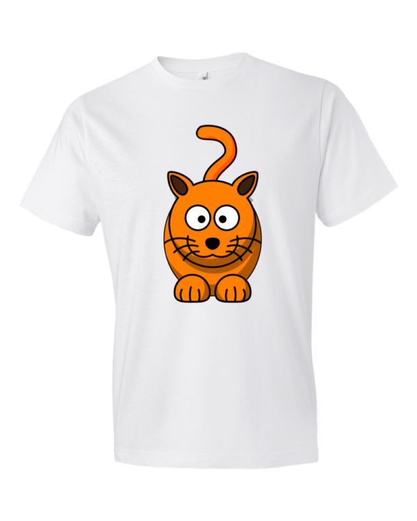 Cat-Lightweight-Fashion-Short-Sleeve-T-Shirt-by-iTEE.com