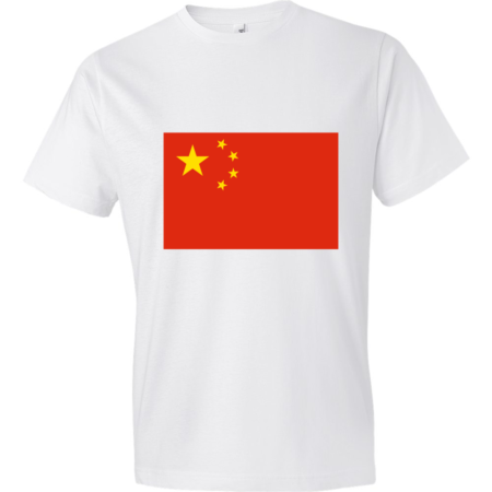 China-Lightweight-Fashion-Short-Sleeve-T-Shirt-by-iTEE.com