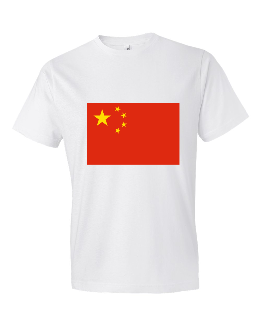 China-Lightweight-Fashion-Short-Sleeve-T-Shirt-by-iTEE.com