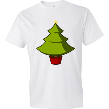 Christmas-Tree-Lightweight-Fashion-Short-Sleeve-T-Shirt-by-iTEE.com