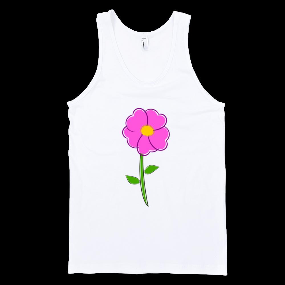 Flower-Fine-Jersey-Tank-Top-Unisex-by-iTEE.com-1