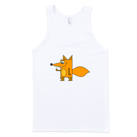 Fox-Fine-Jersey-Tank-Top-Unisex-by-iTEE.com