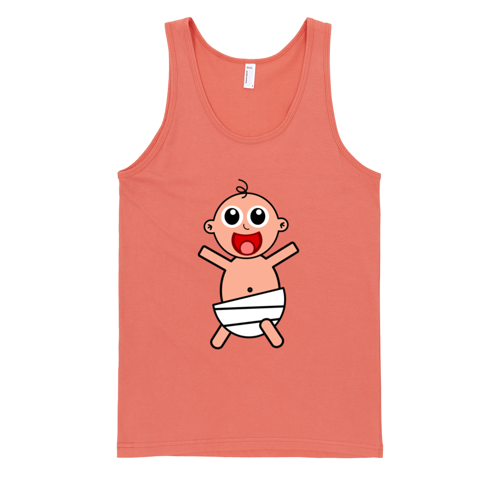 Happy-Baby-Fine-Jersey-Tank-Top-Unisex-by-iTEE.com