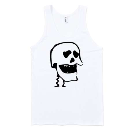 Laughing-Skull-Fine-Jersey-Tank-Top-Unisex-by-iTEE.com