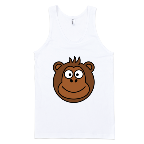 Monkey-Fine-Jersey-Tank-Top-Unisex-by-iTEE.com-2