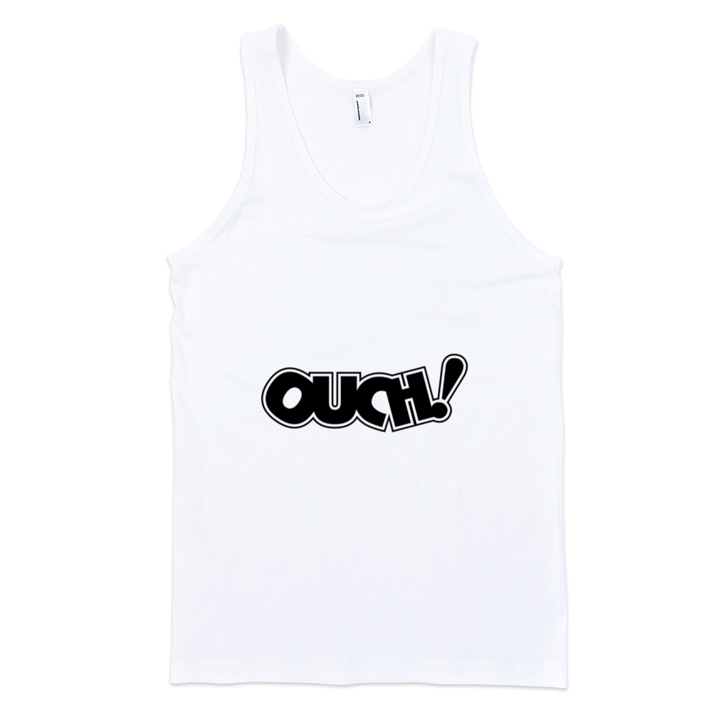 Ouch-Fine-Jersey-Tank-Top-Unisex-by-iTEE.com