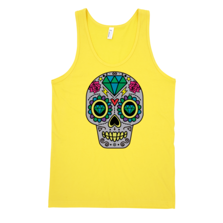 Patterned-Skull-Fine-Jersey-Tank-Top-Unisex-by-iTEE.com-1