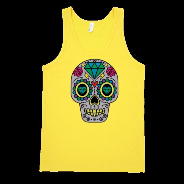 Patterned-Skull-Fine-Jersey-Tank-Top-Unisex-by-iTEE.com-1