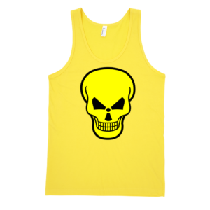 Radioactive-Skull-Fine-Jersey-Tank-Top-Unisex-by-iTEE.com