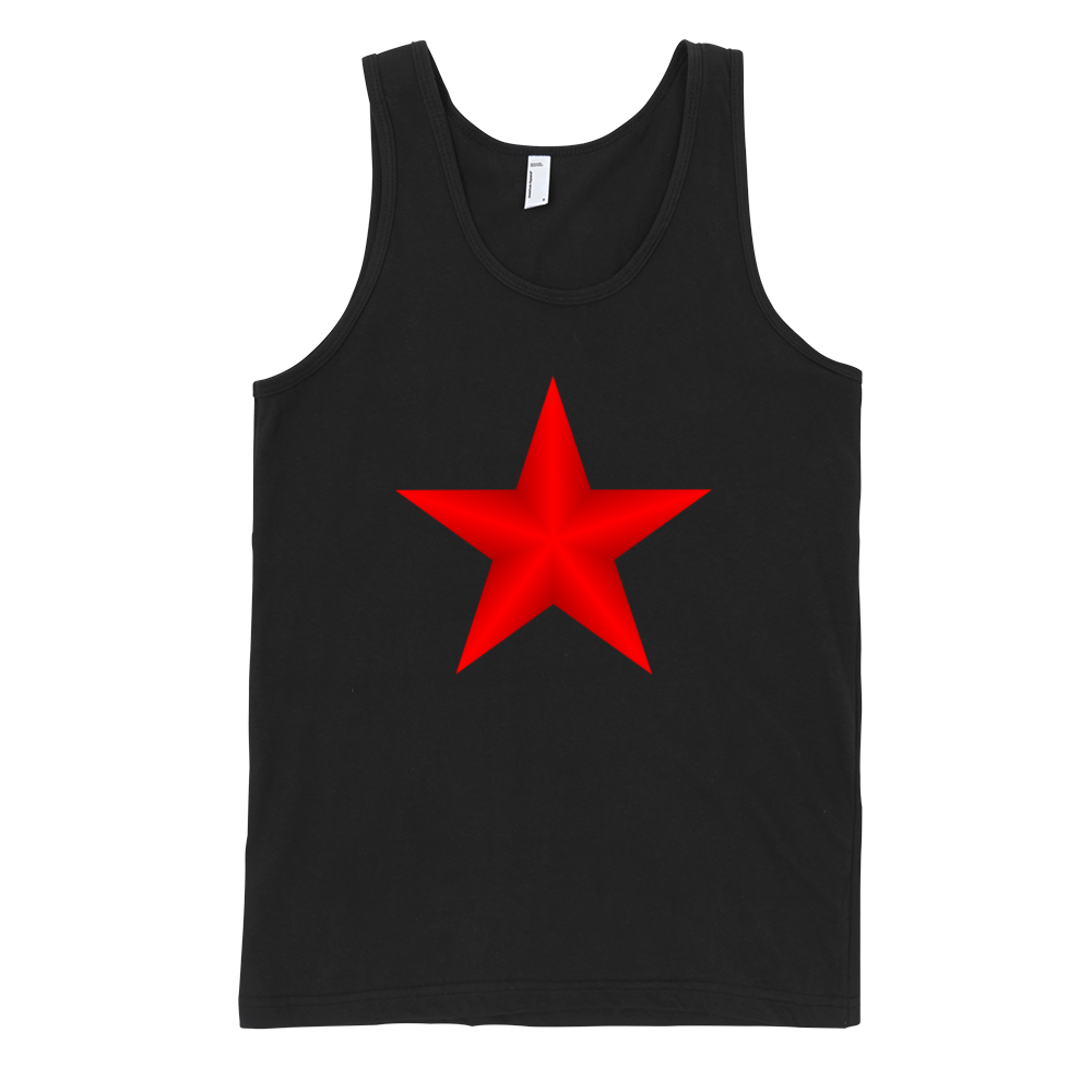 Red-Star-Fine-Jersey-Tank-Top-Unisex-by-iTEE.com-1