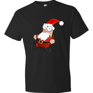 Santa-Claus-Lightweight-Fashion-Short-Sleeve-T-Shirt-by-iTEE.com