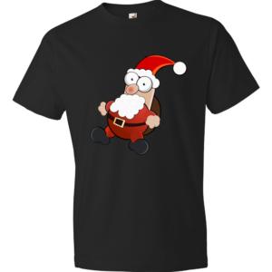 Santa-Claus-Lightweight-Fashion-Short-Sleeve-T-Shirt-by-iTEE.com