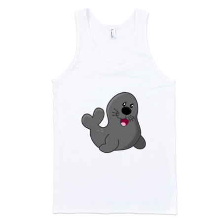Seal-Fine-Jersey-Tank-Top-Unisex-by-iTEE.com