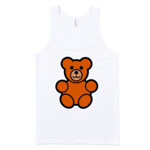Teddy-Bear-Fine-Jersey-Tank-Top-Unisex-by-iTEE.com-1