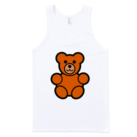 Teddy-Bear-Fine-Jersey-Tank-Top-Unisex-by-iTEE.com-1