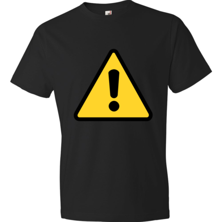 Warning-Lightweight-Fashion-Short-Sleeve-T-Shirt-by-iTEE.com