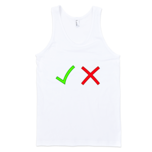 Yes-No-Fine-Jersey-Tank-Top-Unisex-by-iTEE.com