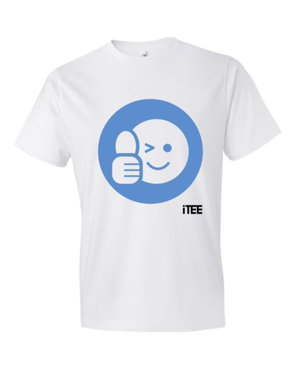 Acceptation-Smiley-Lightweight-Fashion-Short-Sleeve-T-Shirt-by-iTEE.com