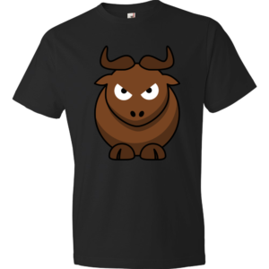 Angry-Gnu-Lightweight-Fashion-Short-Sleeve-T-Shirt-by-iTEE.com