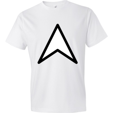 Arrow-Up-Lightweight-Fashion-Short-Sleeve-T-Shirt-by-iTEE.com