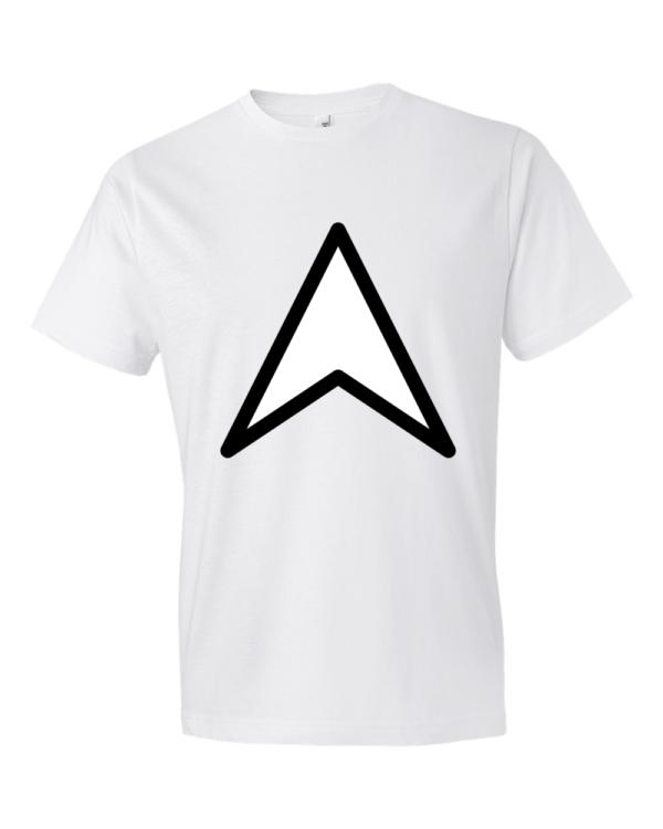 Arrow-Up-Lightweight-Fashion-Short-Sleeve-T-Shirt-by-iTEE.com